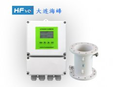电池供电超声波流量计(管段式)